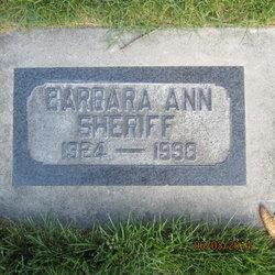 Barbara Sheriff