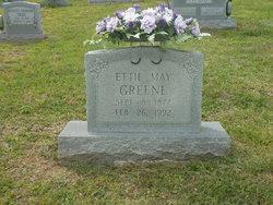 Ettie May <I>Thomas</I> Greene