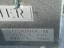 Susanna M <I>Glenn</I> Leather