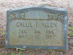 Callie Fannie <I>Harper</I> Allen