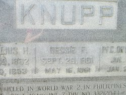 Ressie Florence <I>Lohr</I> Knupp