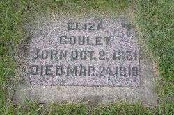 Eliza <I>Collier</I> Goulet