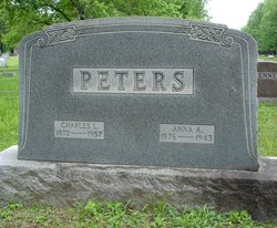 "Anna ""Annie"" <I>Anderson</I> Peters"