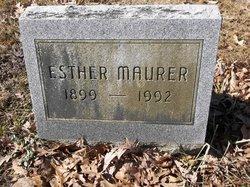 Esther A. <I>Rothrock</I> Maurer