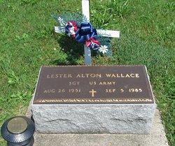 "Sgt Lester Alton ""Banjo"" Wallace"