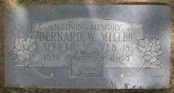 Bernard Washington Miller