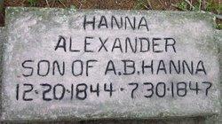 Alexander Hanna