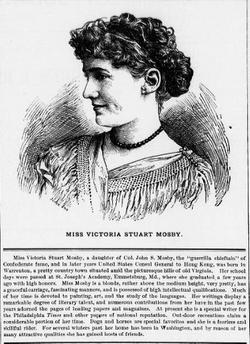 Victoria Stuart <I>Mosby</I> Coleman