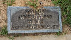 Anner <I>Tyrone</I> Miller
