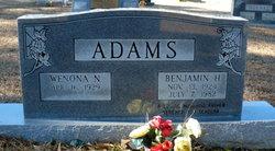 "Benjamin Hughes ""Ben"" Adams, Jr"