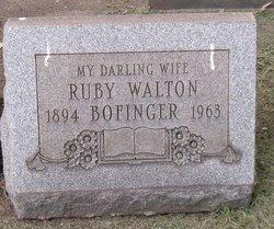 Ruby <I>Walton</I> Bofinger
