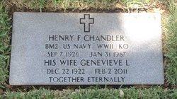 Genevieve L Chandler