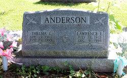 Lawrence E Anderson