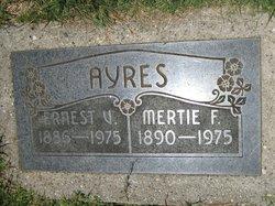 Mertie Fay <I>Huffman</I> Ayres