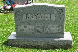 Myrtle Lee <I>Bryant</I> Bryant