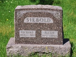 Bettie <I>Johnson</I> Siebold