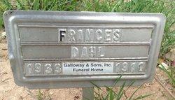Frances <I>McKay</I> Dahl