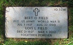 Bert O Field
