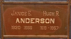 Janice E Anderson