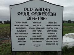 Amish Zehr Cemetery