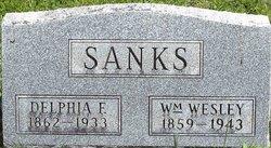 Delphia Frances Sanks