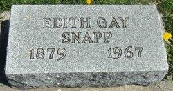 Edith Gay <I>Myers</I> Snapp