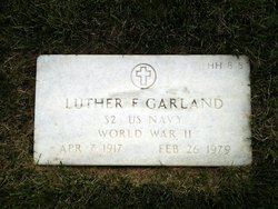 Luther F Garland