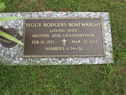 Peggy Ann <I>Rodgers</I> Boatwright