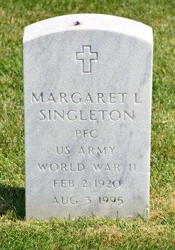 Margaret L Singleton