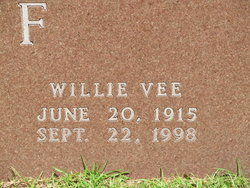 Willie V <I>McBryde</I> Huff
