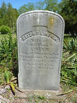 Eliza F <I>Chipman</I> Linekin