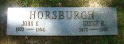 John Harvey Horsburgh