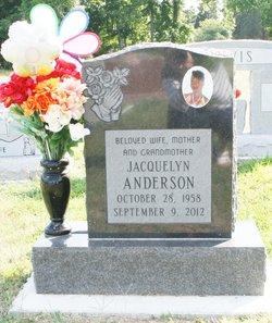 "Jacquelyn ""Jackie"" <I>Roane</I> Anderson"