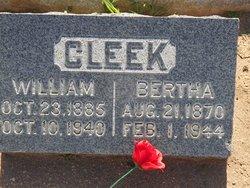 Bertha Florence <I>Morse</I> Cleek