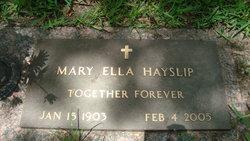 Mary <I>Knight</I> Hayslip