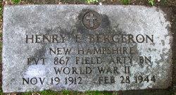 PVT Henry E Bergeron