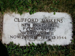 Pvt Clifford J Aikens