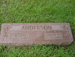 Elizabeth <I>Hansene</I> Anderson
