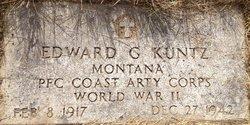 PFC Edward G Kuntz