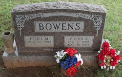 Ethel May Bowens