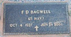 """F D """"Bill"""" Bagwell"""