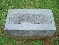 Alice J. Freeman