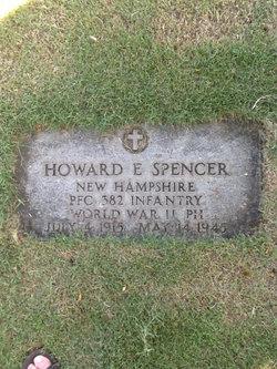 PFC Howard E Spencer