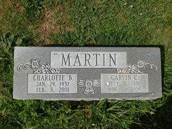 Rev Garvin Carter Martin