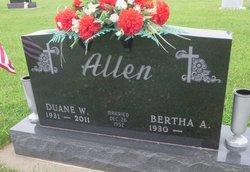 Duane W Allen