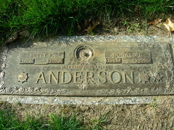 Betty Rose <I>Reed</I> Anderson