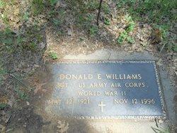 Donald E Williams