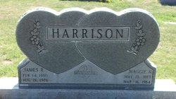Maggie Nora <I>McGee</I> Harrison