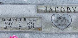 "Charlotte Helena ""Lottie"" <I>Schumpelt</I> Jacoby"