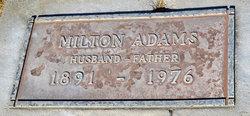 Milton Adams